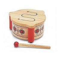 Wooden Tambour Drum