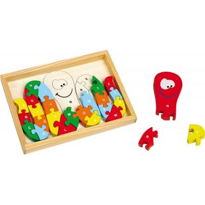 Octopus  Alphabet Puzzle