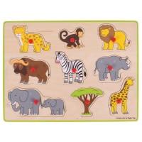 Wild Animal Puzzle