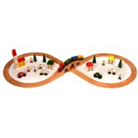 Figure of Eight Train Track Set