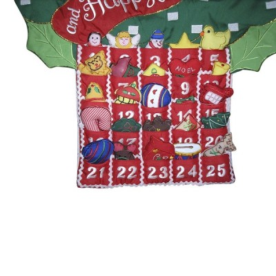 Christmas Tree Hanging Advent Calendar