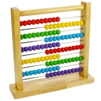 Wooden Counting Abacus
