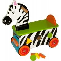 Shape Sorter Zebra