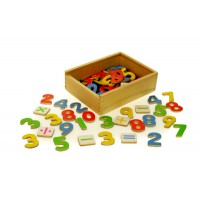 Magnetic Numbers - Wooden