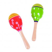 Wooden Junior Maracas