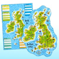 British Isles Puzzle and Poster