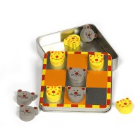 Cat and Mouse Magnetic Noughts and Crosses