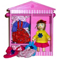 Dress-Up Doll Daisy - Bigjigs