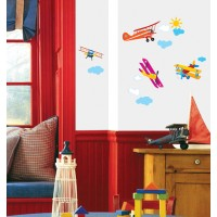 Bedroom Wall Art  - Biplanes