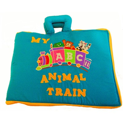 ABC Animal Train Book