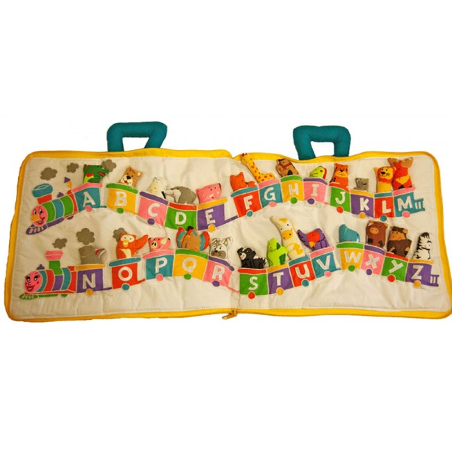 ABC Animal Train Book - £19 95 - Children's Educational Toys and