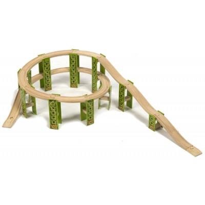 High Level Train Track