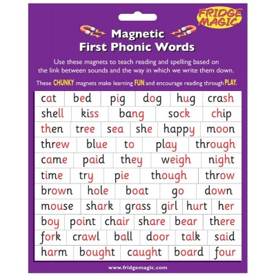 Magnetic Phonic Words