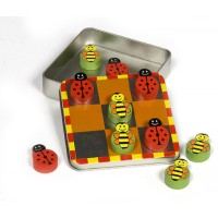 Ladybird / Bee Magnetic Noughts and Crosses