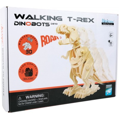Roaring Mechanical T Rex Robot kit