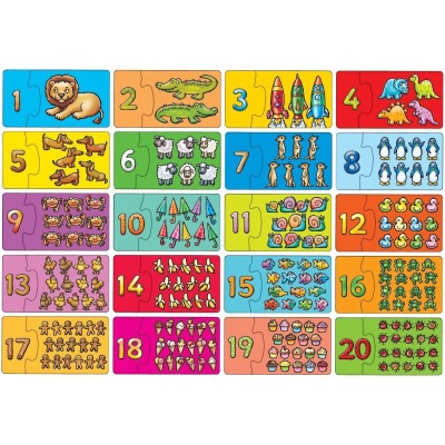 Match and Count Puzzle in Box