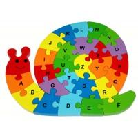 Alphabet Snail Puzzle