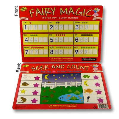 Activity Place Mat - Seek and Count