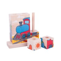 Stacking Transport Puzzle - Bigjigs