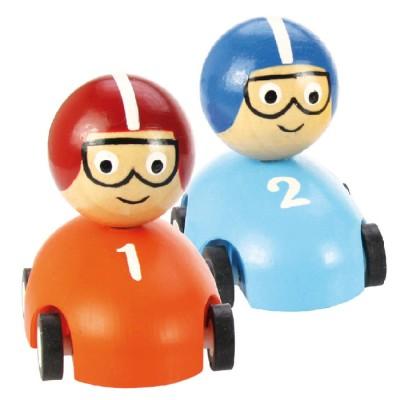 Pull Back Racer - Bigjigs