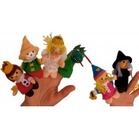 Fairytale Finger Puppets
