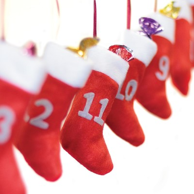 Christmas Stockings Advent Calendar