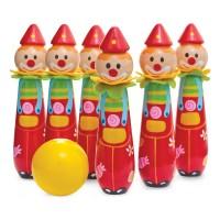 Clown Bowling Skittles