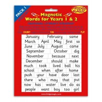 Magnetic Words Years 1 and 2  (pack1)