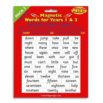Magnetic Words Years 1 and 2 (pack 2)