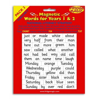 Magnetic Words Years 1 and 2 (pack 3)