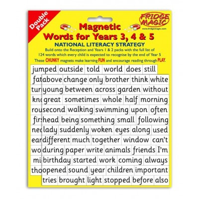 Magnetic Words Years 3, 4 and 5.