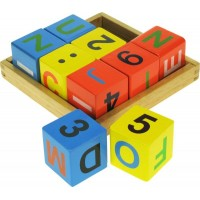 Alphabet Block Tray