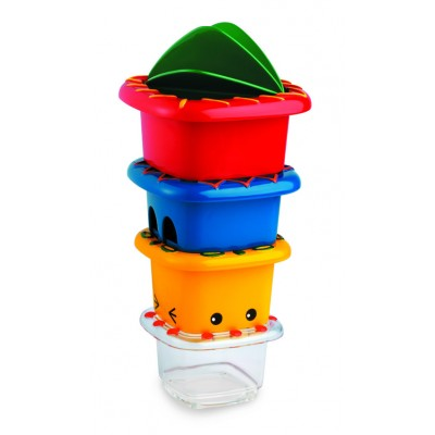 Activity Stacking Bath Cups