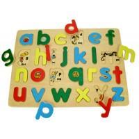 Wooden Alphabet puzzle Bigjigs