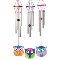 Owl windchime light catcher