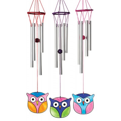 Owl windchime light catcher